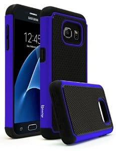 Samsung Galaxy S7/ S7 Edge Bastex Heavy Duty Slim Fit Hybrid Rubber Silicone Phone Case $1.99 + Free Shipping