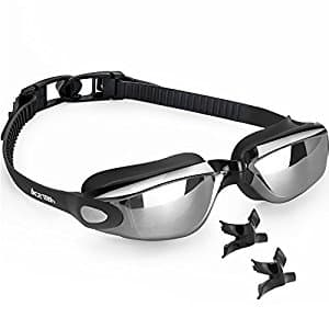 Ace Teah Anti Fog No Leaking Swimming Goggles $7.99 + free shipping
