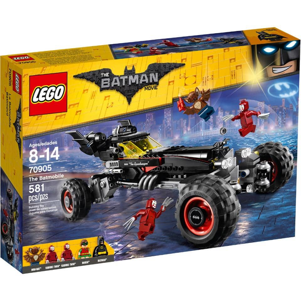 The LEGO Batman Movie - The Batmobile (70905) for $39 at Rakuten.com with the 20% coupon BF20 $38.39