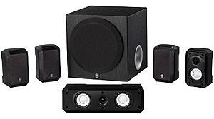 Yamaha NS-SP1800BL 5.1-Channel Home Theater Speaker System - Amazon - $85