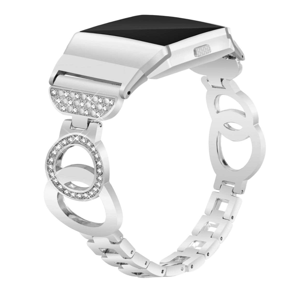 VOMA Stainless Steel Metal Replacement Strap Accessories Band for Fitbit $9.99
