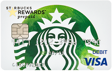 Starbucks Rewards™ Visa® Prepaid Card - 125 Bonus Stars $10