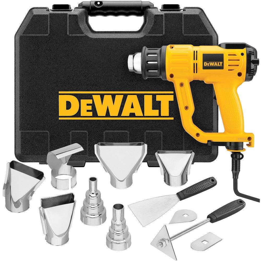 Dewalt D26960k Heavy Duty Heat Gun With Lcd Display Kit Deal Of