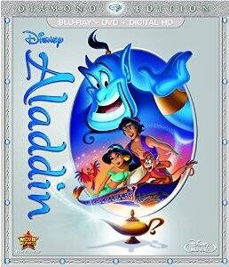 Aladdin: Diamond Edition (Blu-ray/DVD/Digital HD) @ Amazon $13.18 FS with Prime