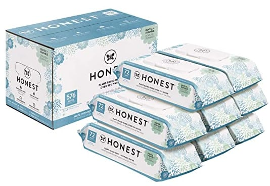 The Honest Company Baby Wipes 576 ct Pack, Only $9.99 at Costco