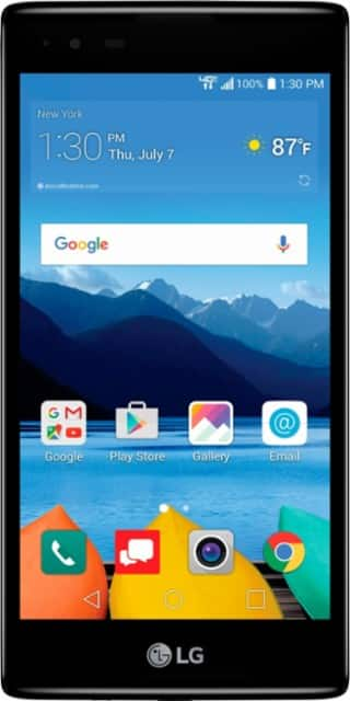 Verizon Prepaid - LG K8 V 4G LTE with 16GB Memory Prepaid Cell Phone - Onyx @ Bestbuy.com $30