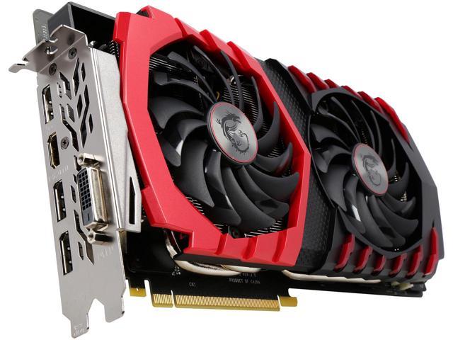 MSI GeForce GTX 1080 DirectX 12 GTX 1080 GAMING 8G 8GB 256-Bit GDDR5X $649.99