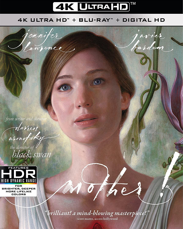 Mother! on 4k Blu-ray $12.99 (Amazon)