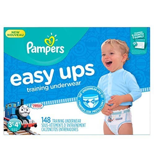 Amazon Family Members:  148 CT Pampers Easy Ups Training Underwear Girls 3T-4T (Size 5) $31.38 w/ $3 coupon S&S + Free S&H
