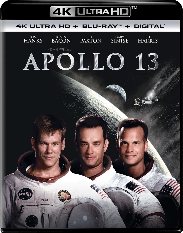 Apollo 13 4K UHD + Blu-ray + Digital $9.99 FS with Prime