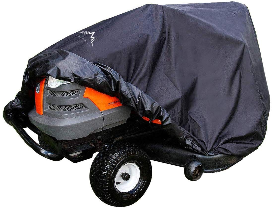 Heavy Duty 600D Polyester Oxford, Waterproof, UV Resistant, Universal Size Tractor Cover $23.03