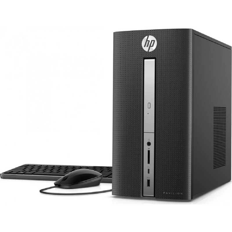 Fry's Email Exclusive: HP Pavilion 570-p030 Desktop PC with Intel Core i7-7700 Processor,12GB Memory,1TB Hard Drive,HD 630 Graphics,Windows 10 $667