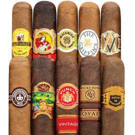 10 Cigar Sampler $24