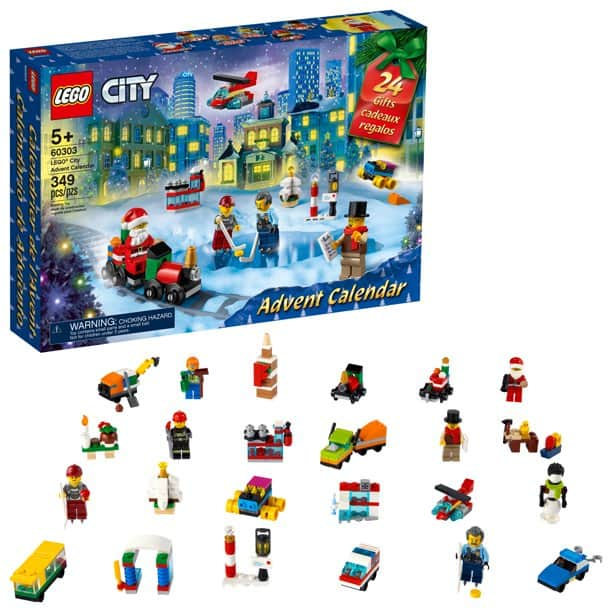 LEGO City Advent Calendar 60303 Building Toy (349 Pieces) $23.99