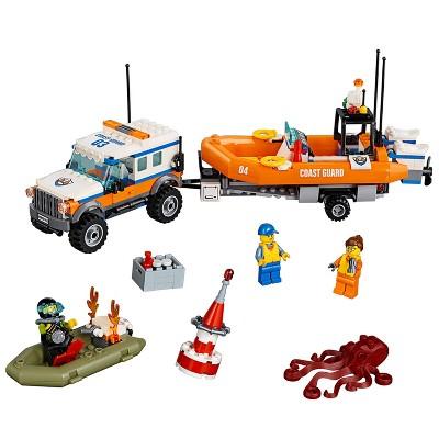 LEGO City Coast Guard 4 x 4 Response Unit 60165 Walmart In-Store Only YMMV $7