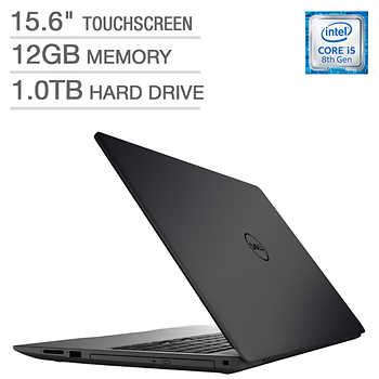 Dell Inspiron 15 5000 Touchscreen Laptop - 8th Gen Intel® Core™ i5-8250U - 1080p - 15.6 Display - 12 GB Memory - 1 TB Hard drive $479.99