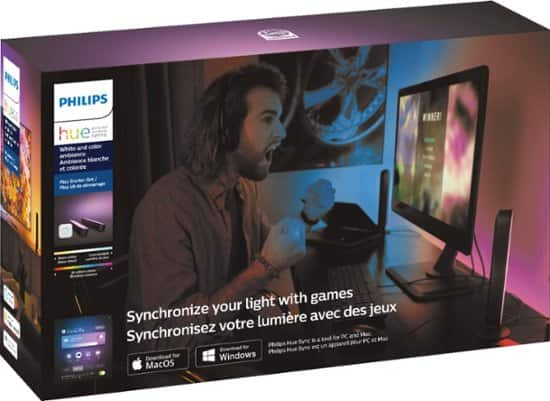 Phillips Hue Play Starter Pack $109.99
