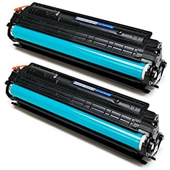 2-pack Black Toner CRG128/CE278A for Canon 128 & HP 78A Laser Printers by Miroo - $9.09 AC + Prime FS
