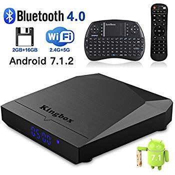 Kingbox K3 Android 7.1 2GB/16GB Smart TV Box w Amlogic S912 & Mini Keyboard - $49.99 AC