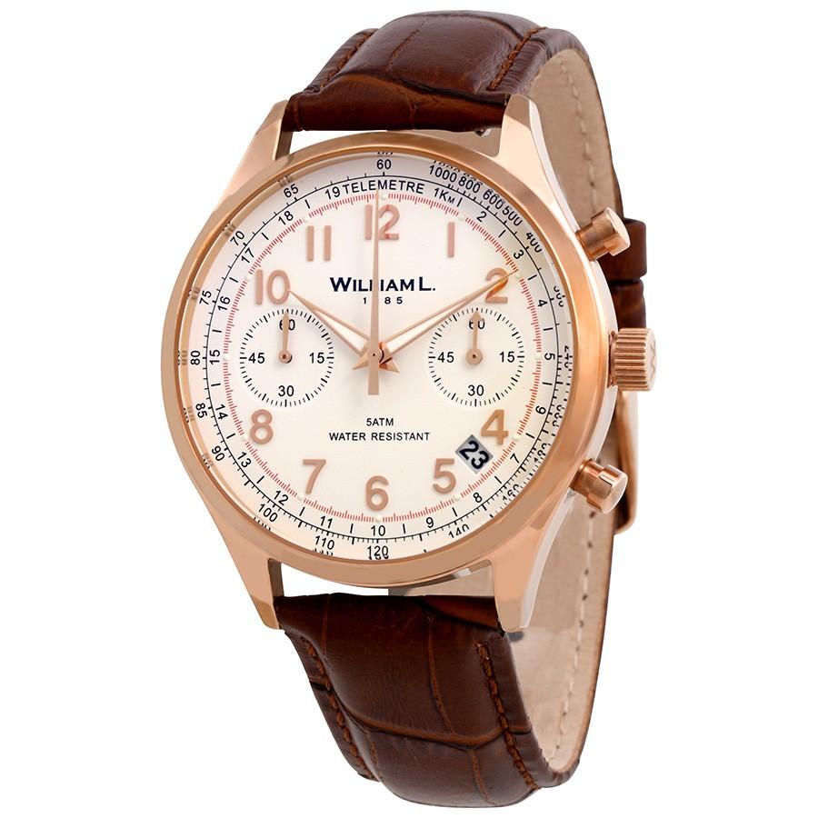 Vintage Chronograph White Dial Men's Watch $62.99+ (5.99 shipping)