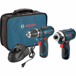 Bosch 12V Max 2-Tool Lithium-Ion Cordless Combo Kit $92