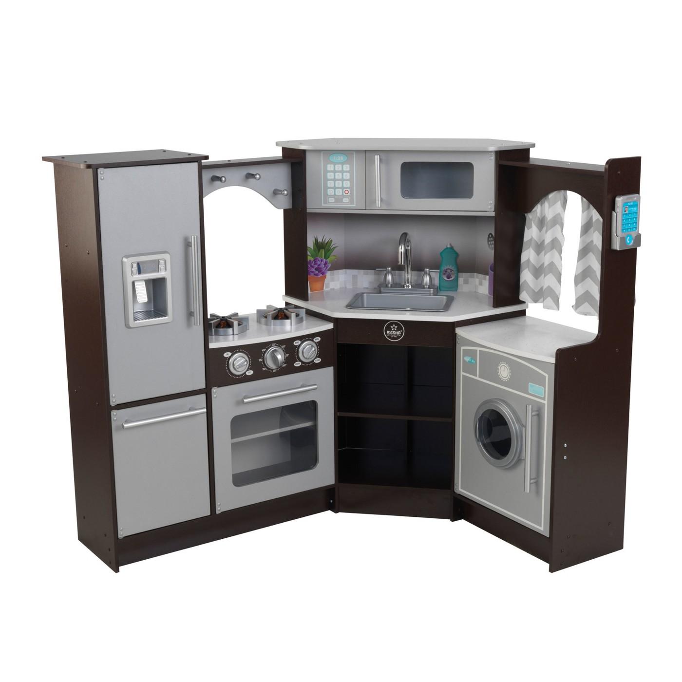 Kidkraft Ultimate Corner Play Kitchen 124 99 Target