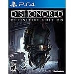 Dishonored: Definitive Edition PS4 29.99/23.99 GCU - BestBuy