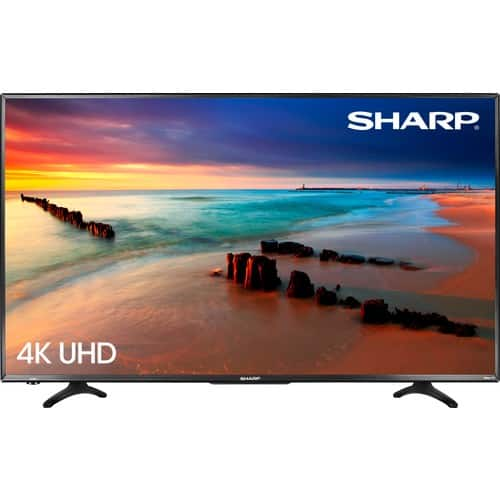 "Sharp - 43"" Class - LED - 2160p - Smart - 4K UHD TV with HDR Roku TV @ Best Buy $249.99"