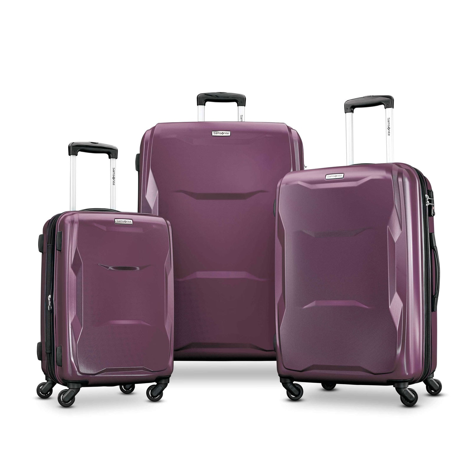 Samsonite Pivot 3 Piece Luggage set-100% polycarbonate-$160 after code on Ebay