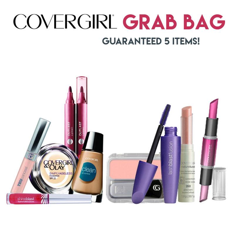 5 Item Covergirl Cosmetics Grab Bag $12.45