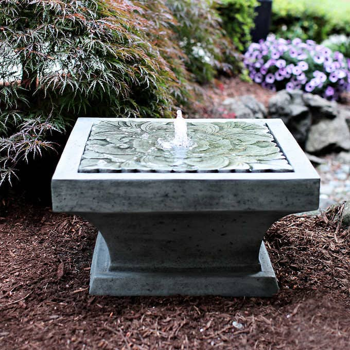 """Costco 26"""" Tiered Resin Fountain $99.99 after $60 off"""
