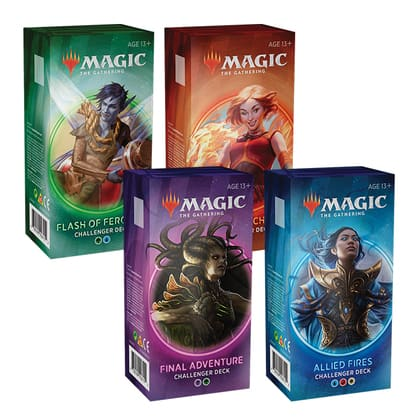 Magic: the Gathering 2020 Challenger Decks (Set of 4) for $64.97
