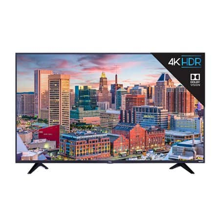 "Refurbished TCL 55"" Class 4K Ultra HD (2160p) Dolby Vision HDR Roku Smart LED TV (55S515) $269.99"