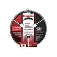 Sears Deal: *Price Drop* Craftsman All Rubber Garden Hose 5/8 In. x 50 Ft. $19.99; 100 ft for $40.49 @sears Free Store Pickup