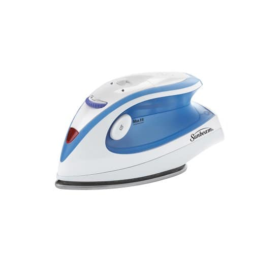 Sunbeam Hot-2-Trot 800 Watt Compact Non-Stick Soleplate Travel Iron $9.86 with $2 Coupon