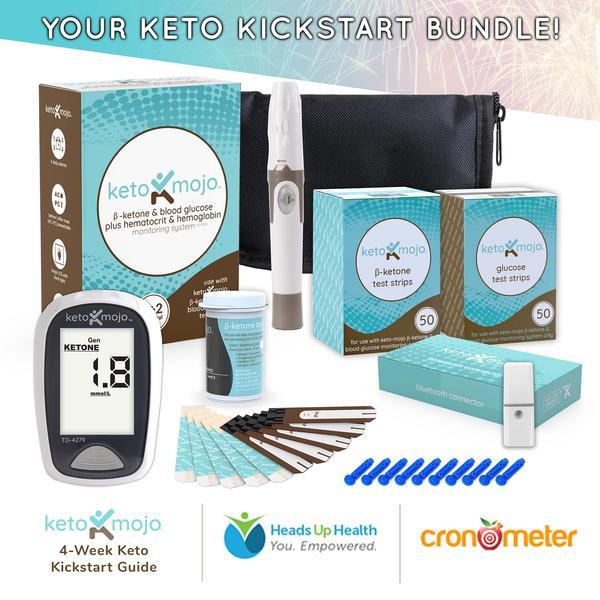 Keto-Mojo Promo Bundle (Ketone/Glucose Meter) $139.95