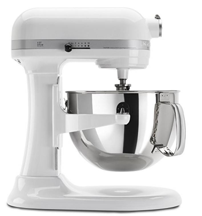 KitchenAid KP26M1XWH 279 - 70MIR = $209 Amazon 6 Qt. Professional 600 Series Bowl-Lift Stand Mixer - White