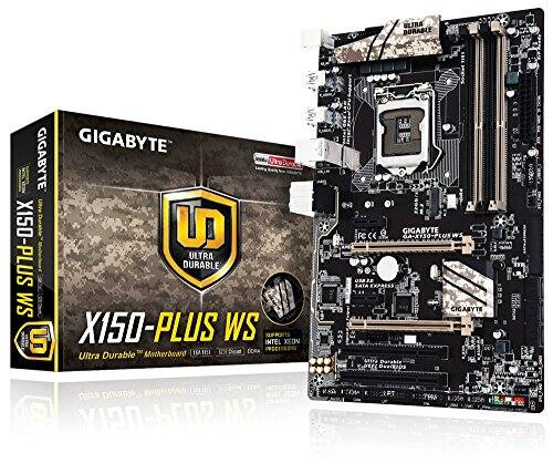 Gigabyte Motherboards ATX DDR4 LGA 1151 Motherboard Xeon support. 68.50 Amazon