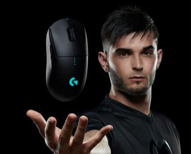 Logitech wireless G Pro mouse. 92 dollars with Unidays account $92