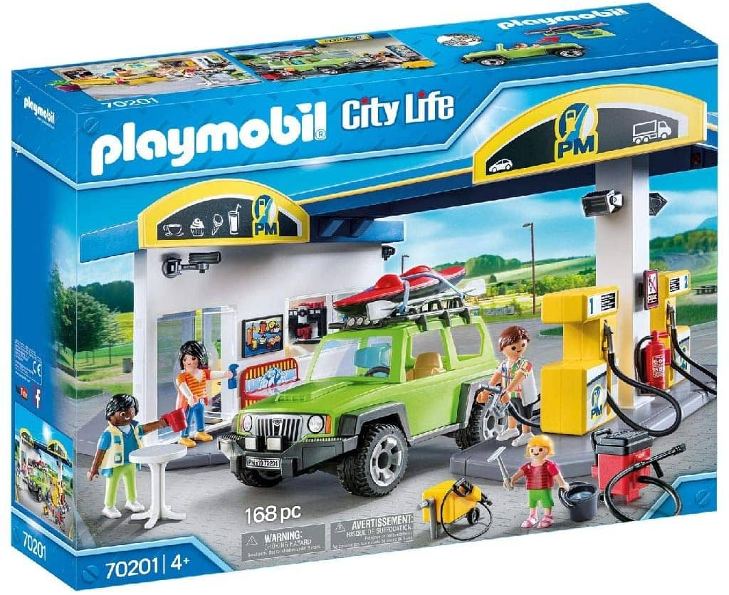 Amazon has Playmobil Gas Station for $ 38.99