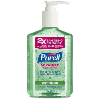 YMMV - Target Has PURELL Advanced Hand Sanitizer Soothing Gel with Aloe and Vitamin E - 8 fl oz for $2.99 -Store Pickup & Shipping