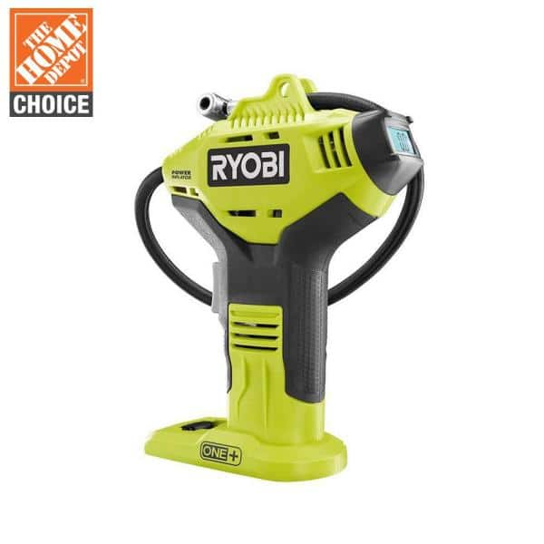 Homedepot has Ryobi 18V ONE+ Lithium-Ion Portable High Pressure Inflator (Bare Tool) for $19.97