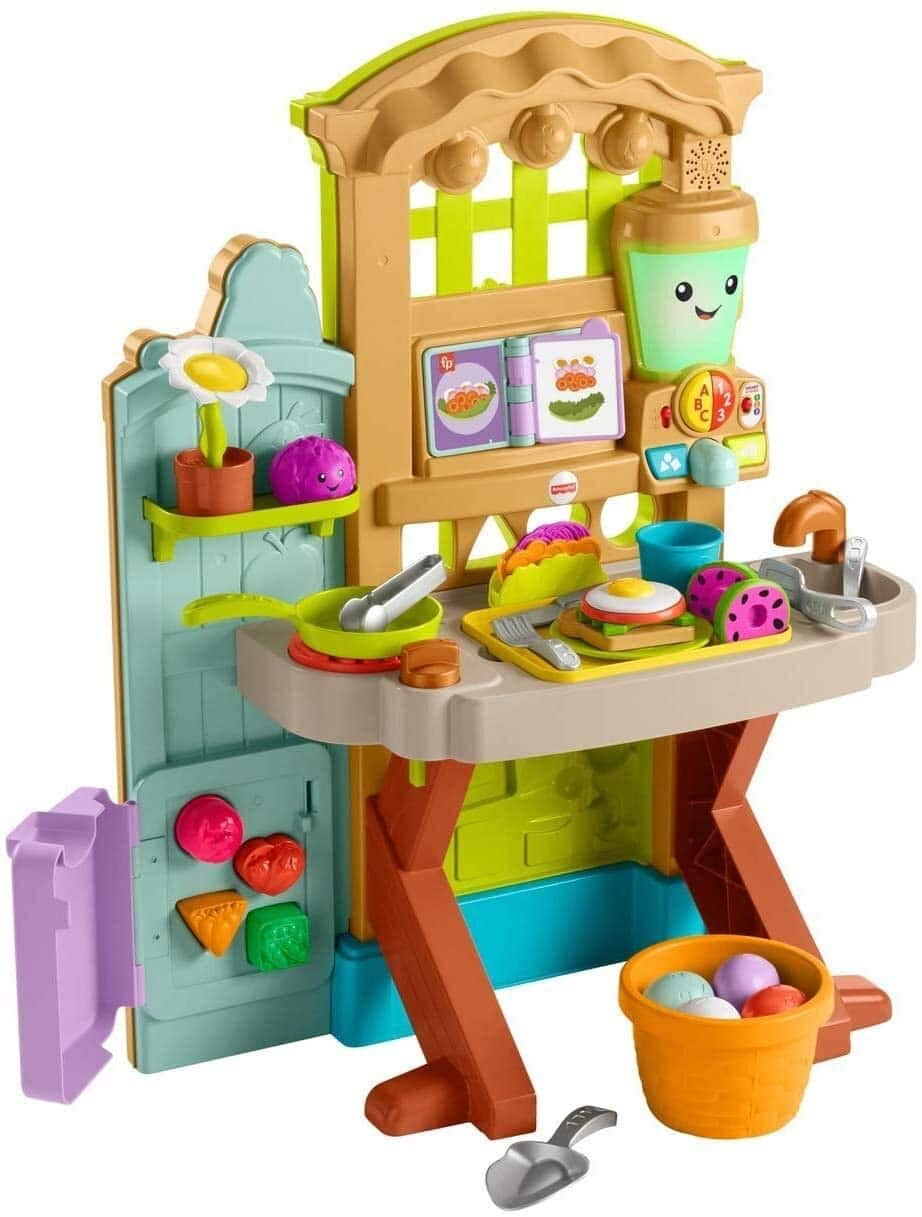 Amazon Offer Fisher-Price Laugh & Learn Grow-the-Fun Garden to Kitchen for $51.99