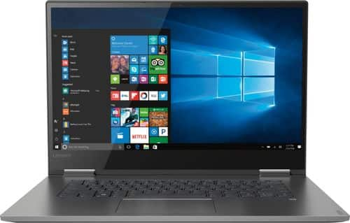 "Lenovo - Yoga 730 2-in-1 15.6"" Touch-Screen Laptop - Intel Core i5 - 8GB Memory - 256GB Solid State Drive - Iron Gray $780"