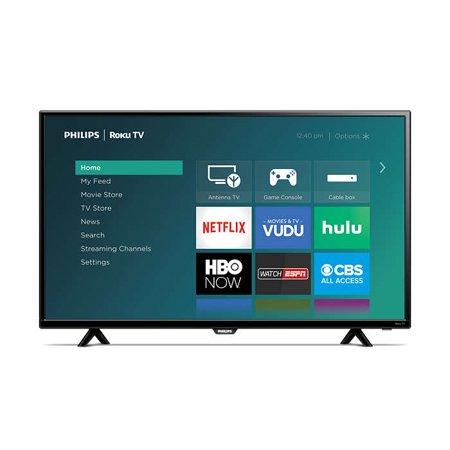 "Philips 43"" Class FHD (1080P) Roku Smart LED TV (43PFL4962/F7) $149 - Walmart YMMV"