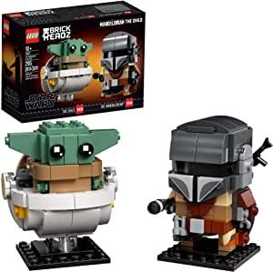 LEGO 75317 BrickHeadz Star Wars The Mandalorian & The Child $16