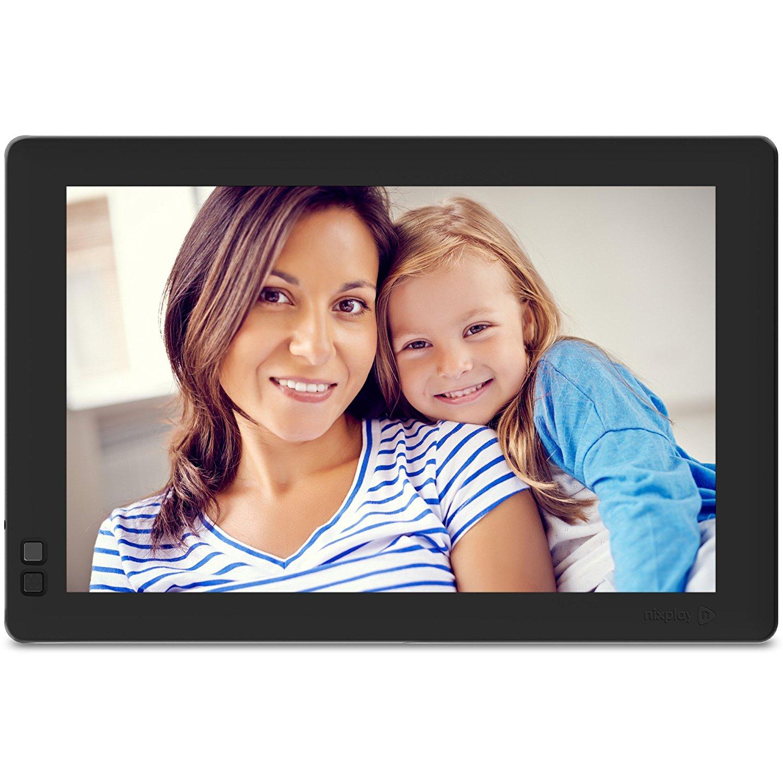 Nixplay Seed 10.1 Inch Widescreen WiFi Digital Photo Frame with Alexa Integration - Black (W10B) $135.99