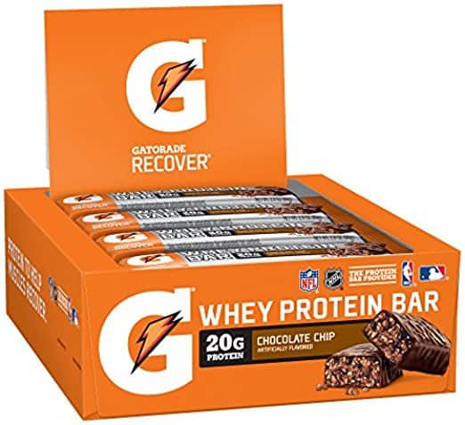 Gatorade Protein Products: 12-Count Gatorade Prime Fuel Bar $9.50 & Many More w/ S&S + Free S/H