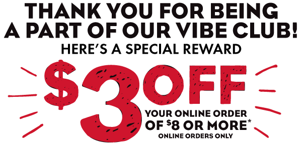 Whichwich - Get $3 off your online order of $8 or more!