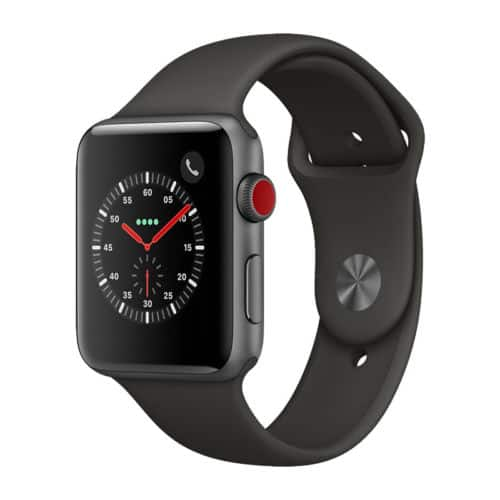 Apple Watch Series 3 GPS + Cellular Aluminum 42mm Case with Sport Loop or Band $299.95 + FS(Seller Refurbished) $300
